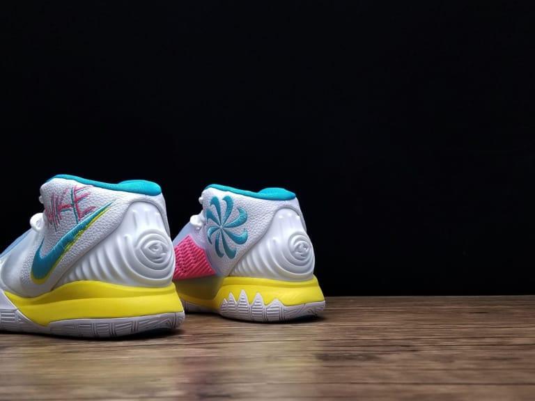 Nike Kyrie 6 Neon Graffiti 2