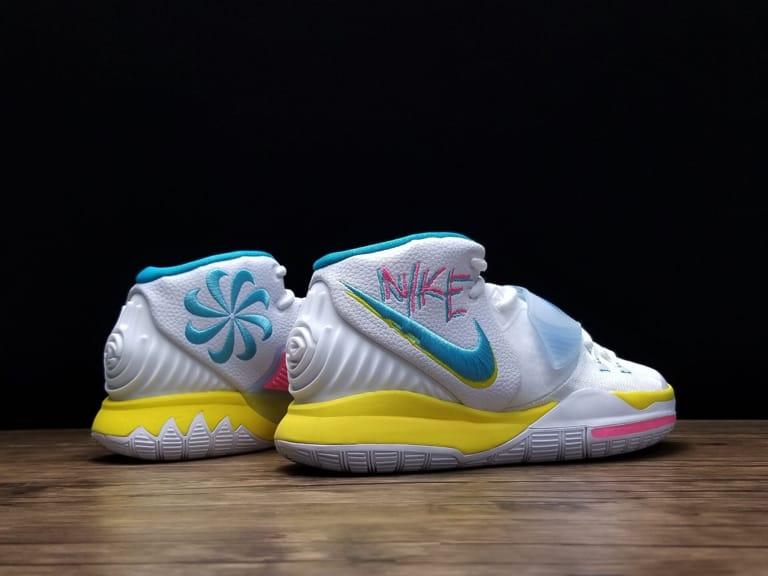 Nike Kyrie 6 Neon Graffiti 3
