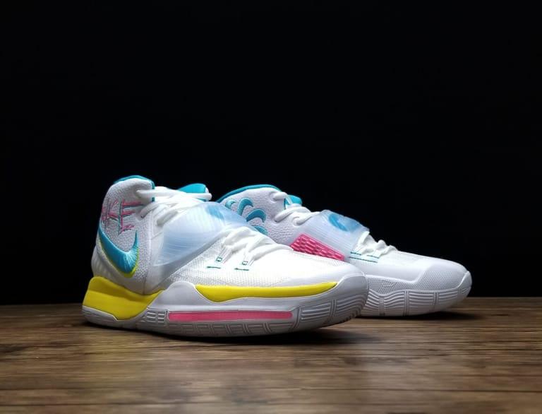 Nike Kyrie 6 Neon Graffiti 4