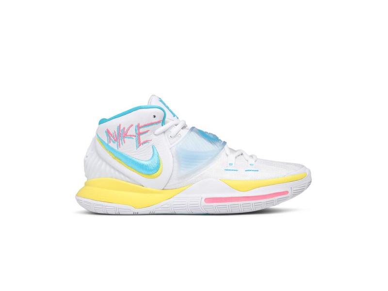 Nike Kyrie 6 Neon Graffiti