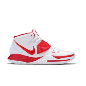 Nike Kyrie 6 White University Red 1