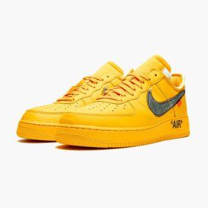 Off White x Nike Air Force 1 Low Lemonade 1
