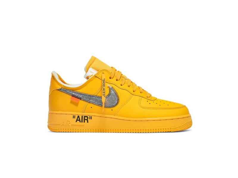 Off White x Nike Air Force 1 Low Lemonade