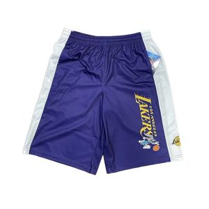 Outerstuff Los Angeles Lakers Space Jam 2 Youth NBA Shorts 1