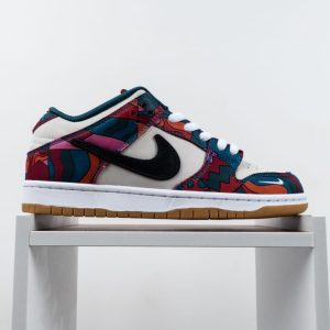 Parra x Nike SB Dunk Low Pro Abstract Art 2021 1