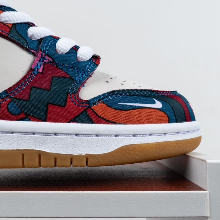 Parra x Nike SB Dunk Low Pro Abstract Art 2021 2