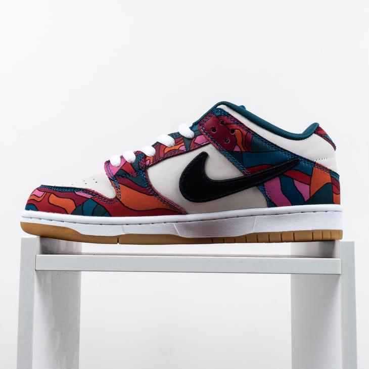 Parra x Nike SB Dunk Low Pro Abstract Art 2021 5
