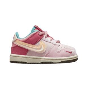 Social Status x Nike Dunk Low Strawberry Milk TD