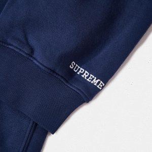 Supreme x Nike Crewneck Navy 1