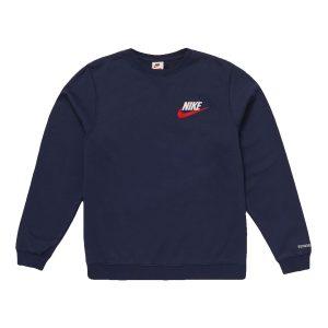 Supreme x Nike Crewneck Navy