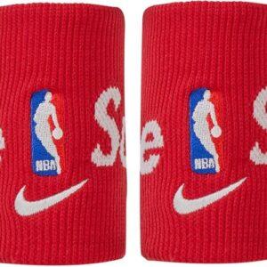 Supreme x Nike NBA Wristbands Pack Of 2 Red 1