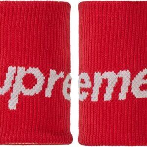 Supreme x Nike NBA Wristbands Pack Of 2 Red