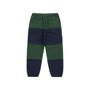Supreme x Nike Stripe Sweatpant Navy 1