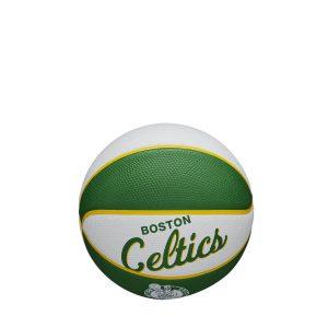 Wilson Boston Celtics Team Logo Retro Mini NBA Basketball 1