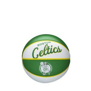Wilson Boston Celtics Team Logo Retro Mini NBA Basketball