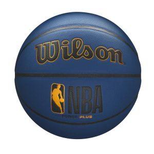Wilson Deep Navy Forge Plus Series NBA Basketball 1