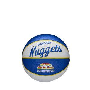 Wilson Denver Nuggets Team Logo Retro Mini NBA Basketball