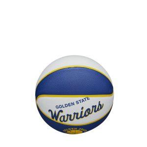 Wilson Golden State Warriors Team Logo Retro Mini NBA Basketball 1