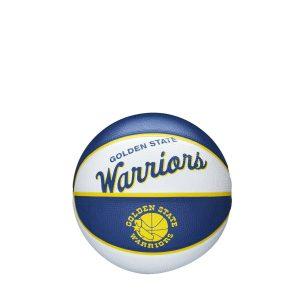 Wilson Golden State Warriors Team Logo Retro Mini NBA Basketball