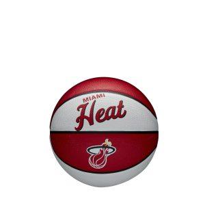 Wilson Miami Heat Team Logo Retro Mini NBA Basketball