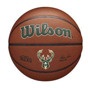 Wilson Milwaukee Bucks Team Alliance NBA Basketball 1