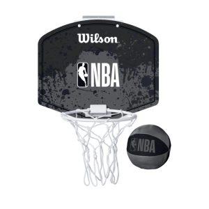 Wilson NBA Black Grey Mini Hoop 1