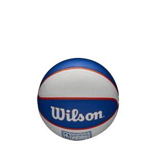 Wilson New York Knicks Team Logo Retro Mini NBA Basketball 1
