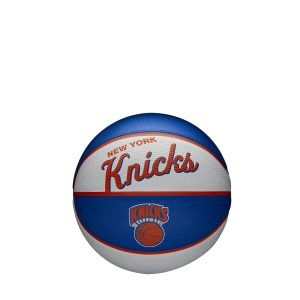 Wilson New York Knicks Team Logo Retro Mini NBA Basketball