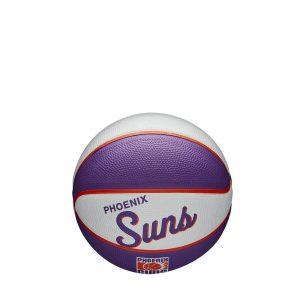 Wilson Phoenix Suns Team Logo Retro Mini NBA Basketball 2