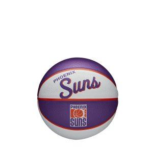 Wilson Phoenix Suns Team Logo Retro Mini NBA Basketball