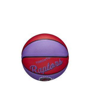 Wilson Toronto Raptors Team Logo Retro Mini NBA Basketball 1
