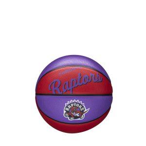 Wilson Toronto Raptors Team Logo Retro Mini NBA Basketball
