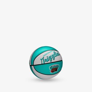 Wilson Vancouver Grizzlies Team Logo Retro Mini NBA Basketball 1