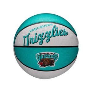 Wilson Vancouver Grizzlies Team Logo Retro Mini NBA Basketball