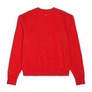 adidas Pharrell Williams Basics Crewneck Sweatshirt Active Red 1