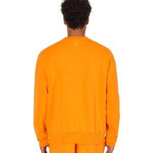 adidas Pharrell Williams Basics Crewneck Sweatshirt Bright Orange 1
