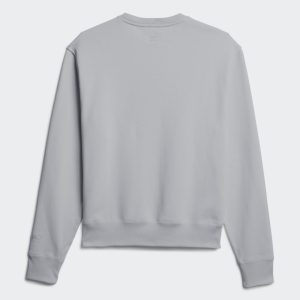 adidas Pharrell Williams Basics Crewneck Sweatshirt Light Grey Heather 1