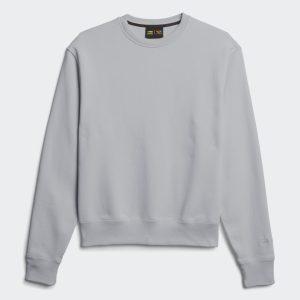 adidas Pharrell Williams Basics Crewneck Sweatshirt Light Grey Heather