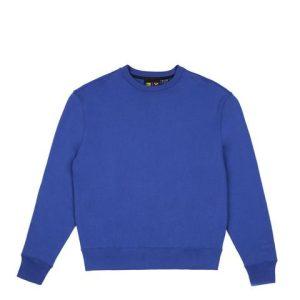 adidas Pharrell Williams Basics Crewneck Sweatshirt Power Blue