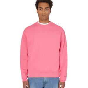 adidas Pharrell Williams Basics Crewneck Sweatshirt Semi Solar Pink