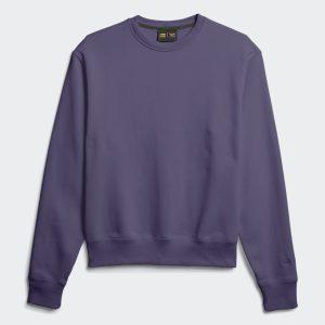 adidas Pharrell Williams Basics Crewneck Sweatshirt Tech Purple 3
