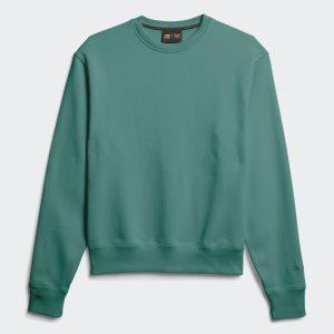 adidas Pharrell Williams Basics Crewneck Sweatshirt True Green 3
