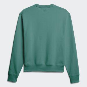adidas Pharrell Williams Basics Crewneck Sweatshirt True Green 4