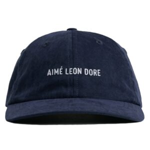 Aime Leon Dore Brushed Nylon Hat Navy 3