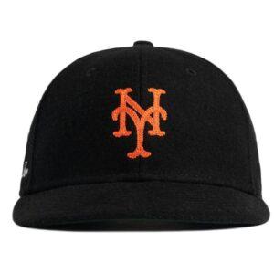 Aime Leon Dore New Era Wool Mets Hat Black