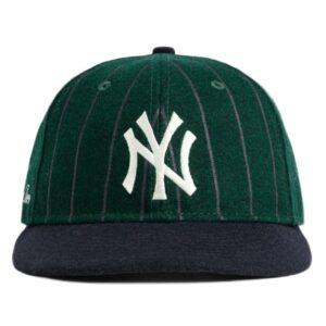 Aime Leon Dore New Era Wool Pinstripe Yankee Hat GreenNavy