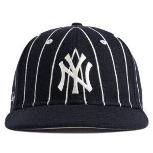 Aime Leon Dore New Era Wool Pinstripe Yankee Hat Navy