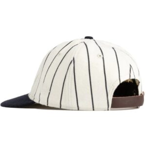 Aime Leon Dore New Era Wool Pinstripe Yankee Hat WhiteNavy 2.1