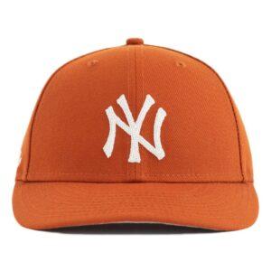 Aime Leon Dore x New Era Chain Stitch Yankees Hat Orange
