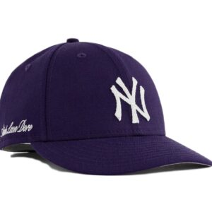 Aime Leon Dore x New Era Chain Stitch Yankees Hat Purple 1